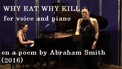 Why Eat Why Kill - video